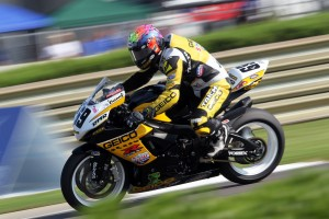 A sport game of sportbike champion